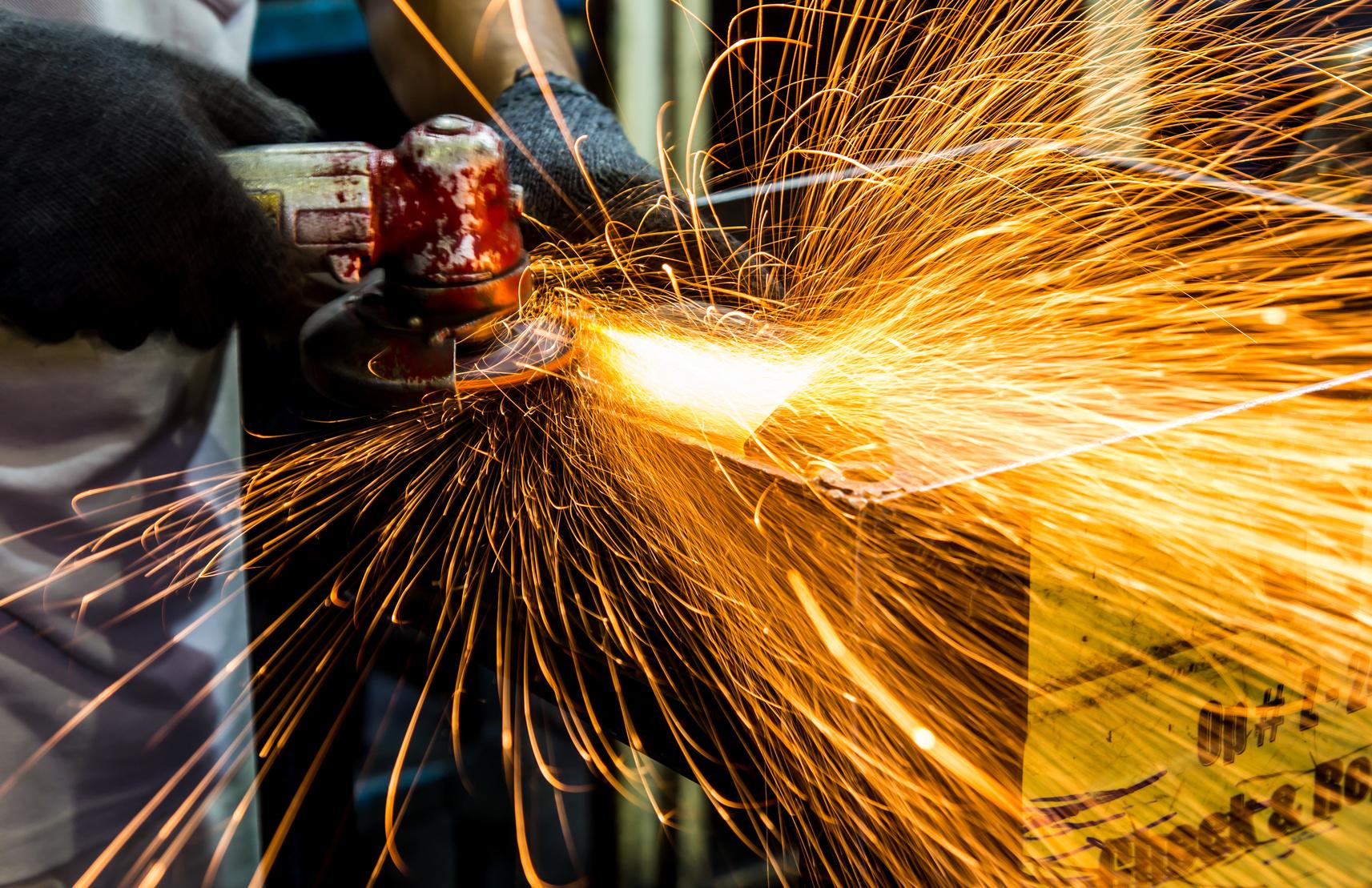 Varmt arbejde - brandforanstaltninger ved gnistproducerende værktøj - Førstehjælp for dig