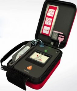 Læs mere om PHILIPS HEARTSTART FR3 SEMI-AUTOMATIC AED
