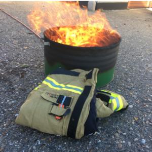 Miljøvenlig gas brandkar