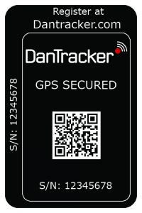 DanTracker Secure Sticker