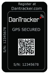 DanTracker Secure Sticker