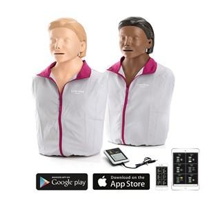 Lille anne qcpr HLR AED træningsdukke