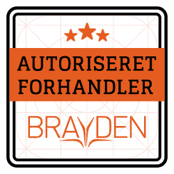 AUTORISERET FORHANDLER - Emblem - BRAYDEN