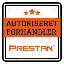 AUTORISERET FORHANDLER - Emblem - PRESTAN