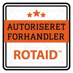 AUTORISERET FORHANDLER - Emblem - ROTAID