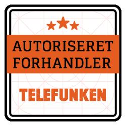 AUTORISERET FORHANDLER - Emblem - TELEFUNKEN